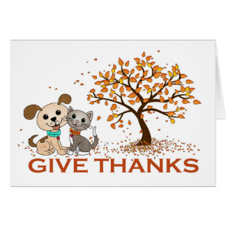 Give Thanks (BowWow & MeeYow) Card