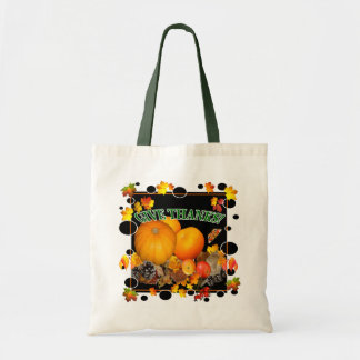 GIVE THANKS!    Budget Tote