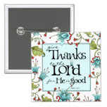 Give Thanks - Button