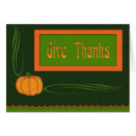 """Give Thanks"" Card"