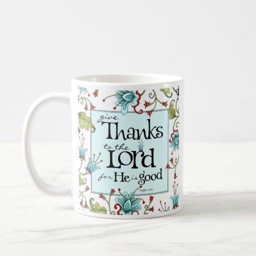 Give Thanks - Coffee Mug