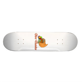 Give Thanks Cornucopia Skateboard Deck