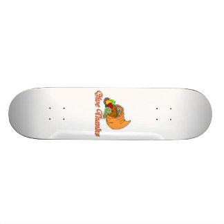 Give Thanks Cornucopia Skateboard Deck