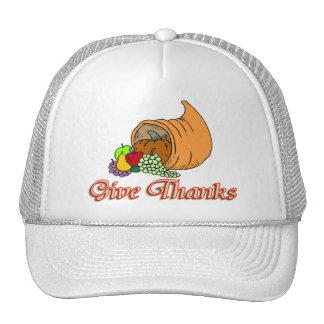 Give Thanks Cornucopia Trucker Hat