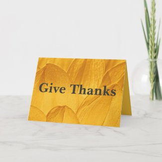 Give thanks for all things Ephesians 5:20 Greeting Card
