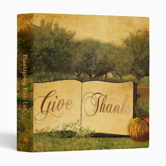 Give Thanks for Thanksgiving Binder