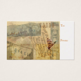 Give Thanks for Thanksgiving Business Card