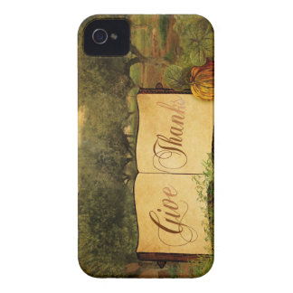 Give Thanks for Thanksgiving Case-Mate iPhone 4 Case