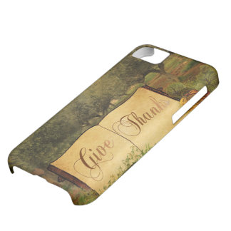 Give Thanks for Thanksgiving Case For iPhone 5C