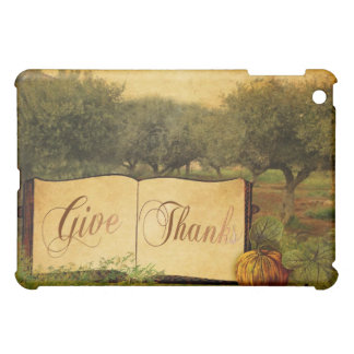 Give Thanks for Thanksgiving iPad Mini Covers