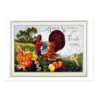 Give Thanks for Thanksgiving Large Business Card