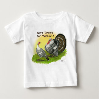 Give Thanks For Turkeys! Baby T-Shirt