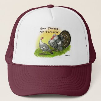 Give Thanks For Turkeys! Trucker Hat