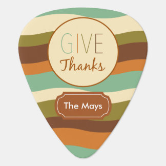 Give Thanks Guitar Pick