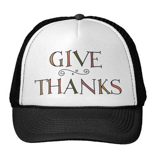 Give Thanks Mesh Hats
