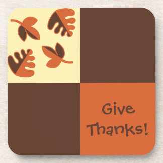 Give Thanks Holiday Coasters
