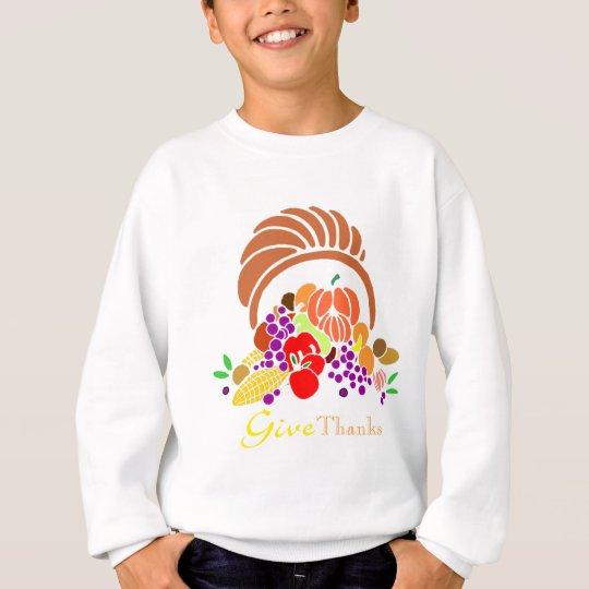 Give Thanks - Horn of Plenty Sweatshirt
