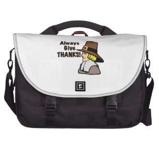 Give Thanks Laptop Commuter Bag