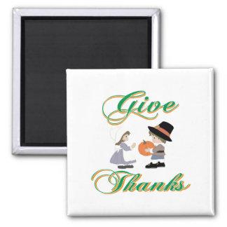 Give Thanks Fridge Magnets