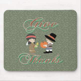 Give Thanks Mouse Pad