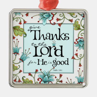 Give Thanks - Ornament