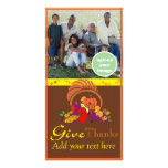 Give Thanks Personalized Photo Card