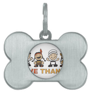 Give Thanks Pet Tag