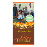 Give Thanks Photo Greeting Card