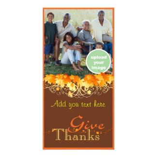 Give Thanks Photo Card