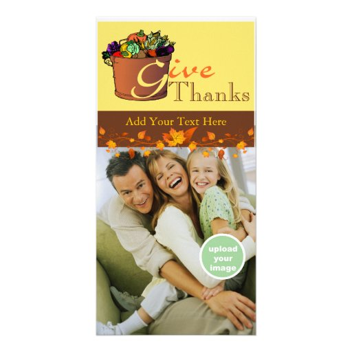 Give Thanks Picture Card