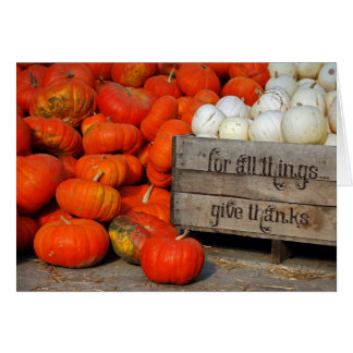 give thanks-pumpkins card
