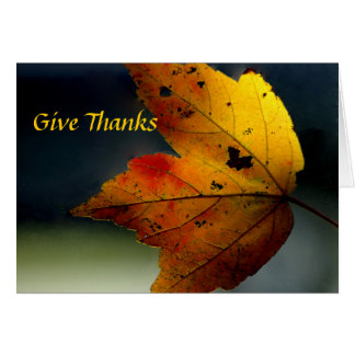 Give Thanks/ - Ralph Waldo Emerson Cards