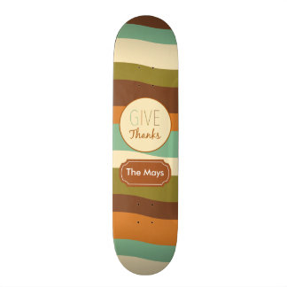 Give Thanks Skate Boards