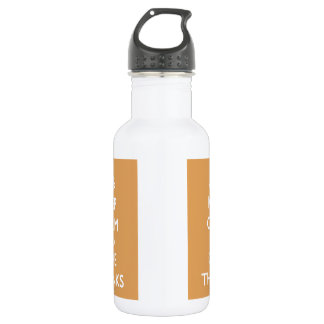 Give Thanks Stainless Steel Water Bottle