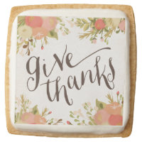 Give Thanks | Thanksgiving Cookies