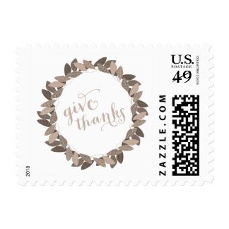 Give Thanks | Thanksgiving Postage