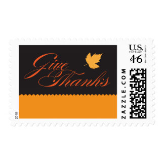 Give Thanks Thanksgiving Stamp