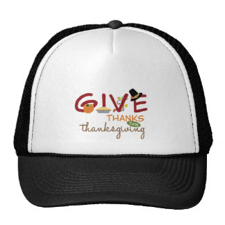 GIVE THANKS THIS THANKSGIVING TRUCKER HAT
