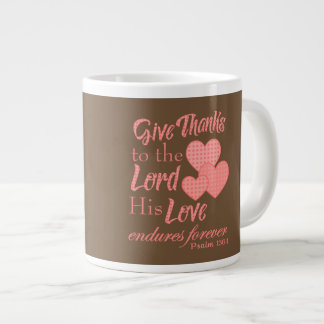 Give Thanks to the Lord Christian mugs