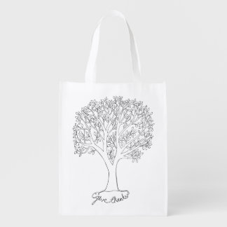 Give Thanks Tree Market Totes