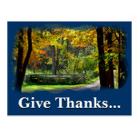 Give thanks unto the Lord 1 Chronicles 16:8 Postcard