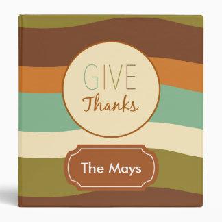 Give Thanks Vinyl Binders
