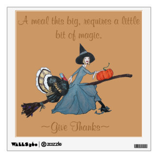 Give Thanks Wall Sticker