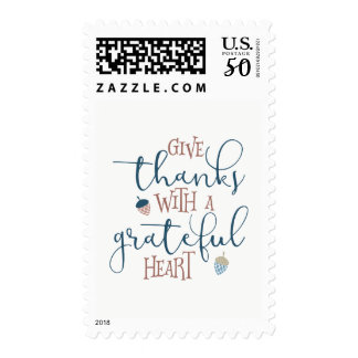 Give Thanks With a Grateful Heart Postage