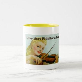 Give that Fiddler a Dram Coffee Mug