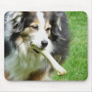 Give the Dog a Bone Mouse Pad