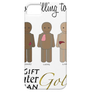 Give the gift of life - A Gift Greater than Gold iPhone SE/5/5s Case
