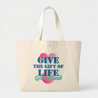 Give the gift of life canvas bags
