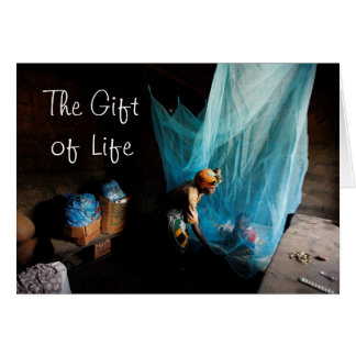 Give the Gift of Life, Give a Bed ... - Customized Card