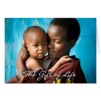Give the Gift of Life - Give a Bed Net Card